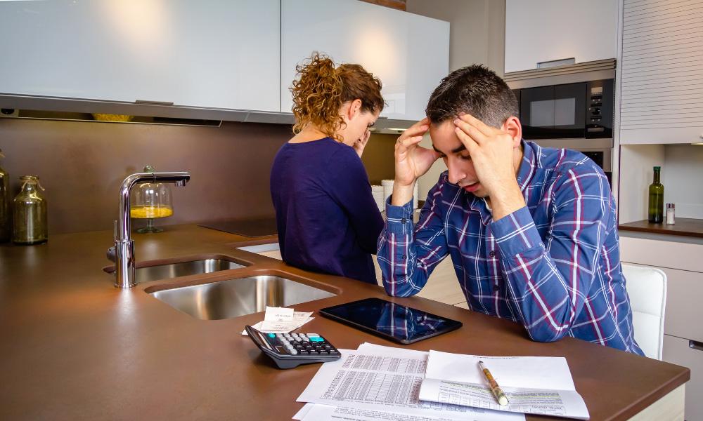 marital debt affecting inheritance in a divorce